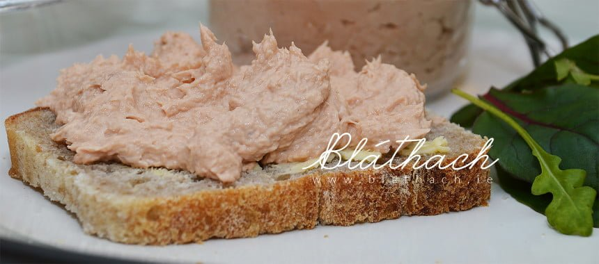 Tomato Smoked Mackerel Pâté