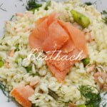 Asparagus and Salmon Risotto
