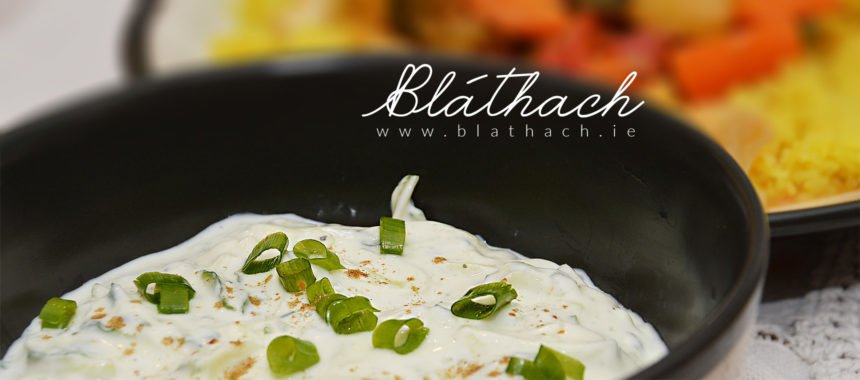Homemade Cucumber Raita