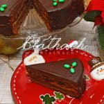 Gingerbread Cake with Marzipan