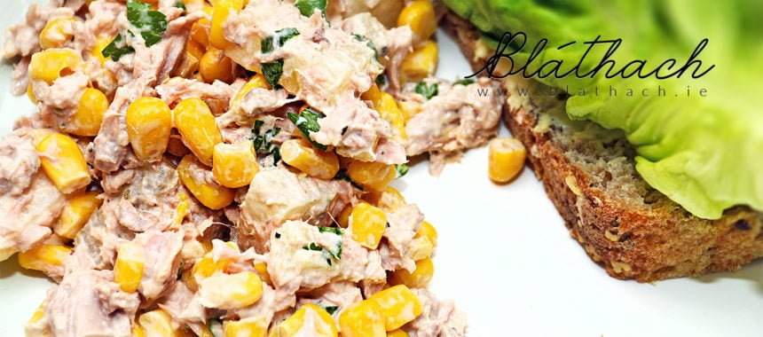 Tuna, Pineapple and Sweet Corn Salad