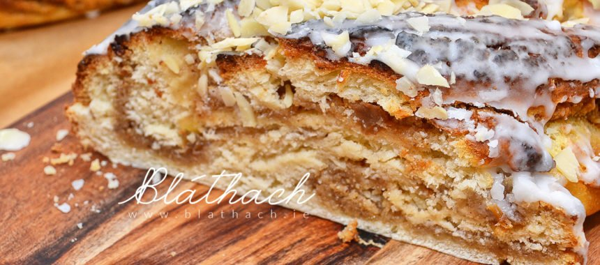 Braided Poppy Seed Strudel