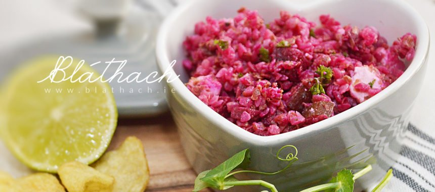 Buckwheat Groats and Beetroot Salad
