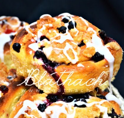 blackcurrant buns