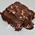 Chocolate Coconut Flavour Brownies
