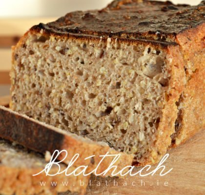 sourdough millet bread