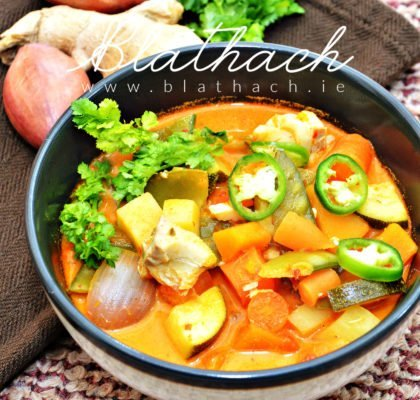 thai fish red curry