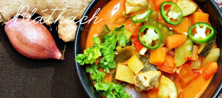 Spice Thai Red Fish Curry