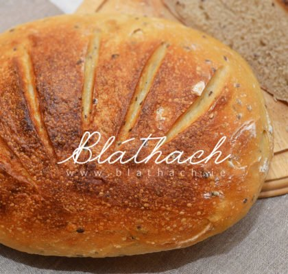 sourdough bloomer bread