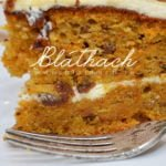 Frosted Spiced Carrot Cake