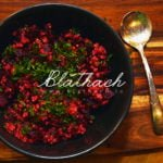 Spicy Beet and Millet Salad