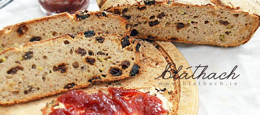 Raisin and Celery Sourdough Bread