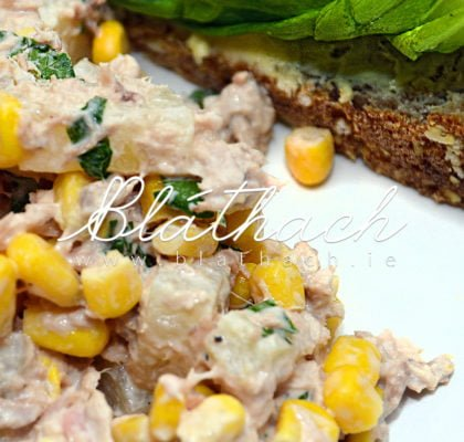 tuna sweet corn salad