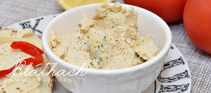 Vegan Fava (Broad) Bean Spread