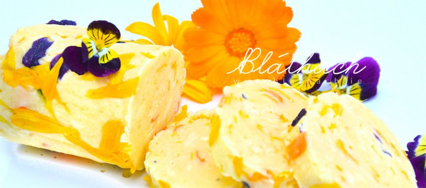 Floral Compound Butter