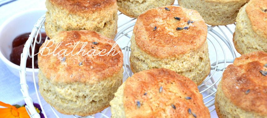 Lavender Scones – Afternoon Tea