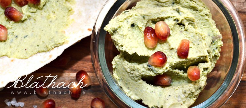 Fresh Fava Bean Hummus