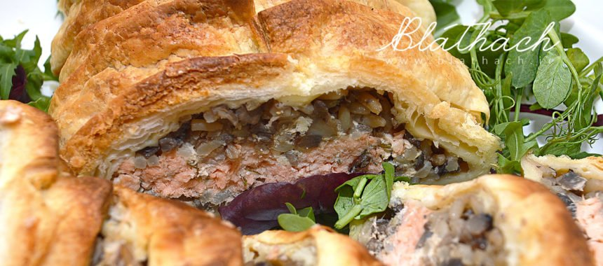 Coulibiac – Salmon and Rice Pie