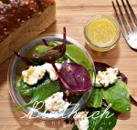 Spring Salad with Goat Cheese and Vinaigrette